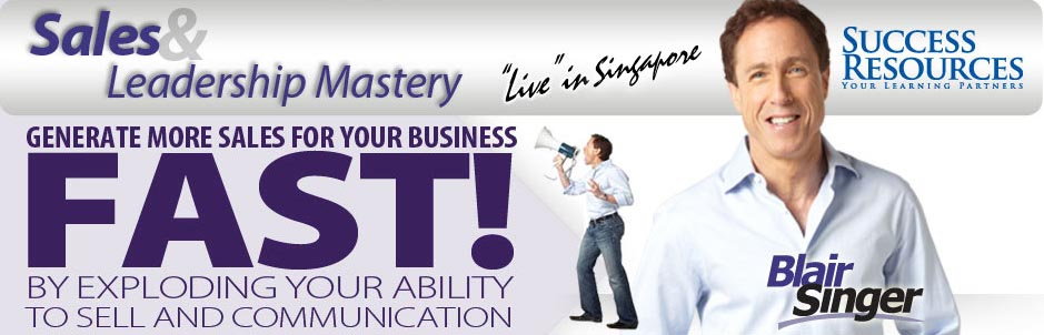 Sales & Leadeship Mastery - Singapore