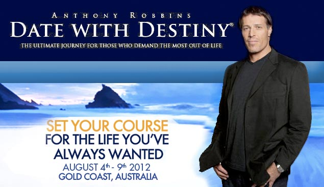 Anthony Robbins Date with Destiny - Australia