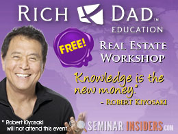 Rich Dad Education FREE TICKET to Real Estate Training Course - Ankeny, IA