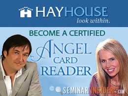 Hay House Become a Certified Angel Card Reader Course with Doreen Virtue and Radleigh Valentine - New York