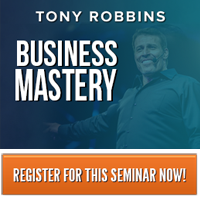 Tony Robbins Business Mastery Workshop