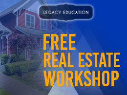 Free Real Estate Workshop - Frisco - TX - Legacy Education